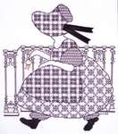 Click for more details of Victoria's Girls - Alice (blackwork kit) by Classic Embroidery
