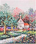 Click for more details of Victorian Springtime (cross-stitch pattern) by Country Cross Stitch