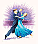 Click for more details of Viennese Waltz (cross-stitch kit) by John Clayton