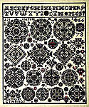 Click for more details of Vierlande 1826 Sampler (cross-stitch kit) by Permin of Copenhagen