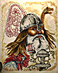 Click for more details of Viking (cross-stitch kit) by Permin of Copenhagen