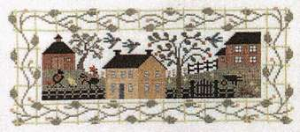 Click for more details of Village Green (cross stitch) by The Prairie Schooler
