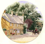 Click for more details of Village Lane (cross-stitch kit) by John Clayton