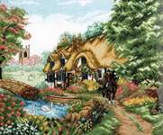 Click for more details of Village Life (cross stitch) by Anchor