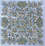 Click for more details of Village Square (cross-stitch) by Ink Circles