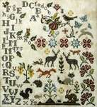 Click for more details of Vintage Animals (cross stitch) by Jeannette Douglas