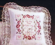 Click for more details of Vows of Love (cross-stitch) by Stoney Creek