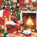 Click for more details of Waiting for Santa (cross stitch) by Kustom Krafts