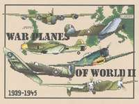 Click for more details of War Planes of World War II  (cross-stitch) by Vickery Collection