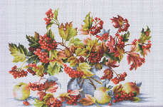 Click for more details of Watercolour Guelder Rose (cross stitch) by Luca - S