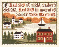 Click for more details of Weather Wise (cross-stitch pattern) by The Prairie Schooler