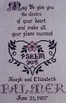 Click for more details of Wedding Blessing (cross-stitch) by In a Gentle Fashion