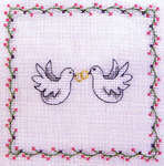 Click for more details of Wedding (cross-stitch pattern) by Rico Design
