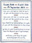 Click for more details of Wedding Prayer (cross stitch) by Imaginating