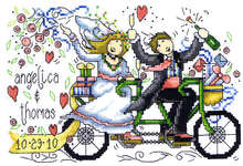 Click for more details of Wedding Ride (cross stitch) by Imaginating