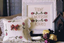 Click for more details of Wedding Roses (cross-stitch pattern) by From The Heart