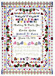 Click for more details of Wedding Sampler (cross-stitch pattern) by Cross My Heart