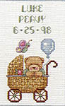 Click for more details of Welcome, Baby! (cross-stitch pattern) by Lorri Birmingham