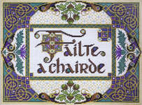 Click for more details of Welcome Friends - Failte a chairde (cross-stitch kit) by Design Works