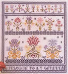 Click for more details of Welcome to my Garden (cross-stitch pattern) by Rosewood Manor