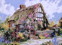 Click for more details of Wepham Cottage (cross-stitch pattern) by Pegasus