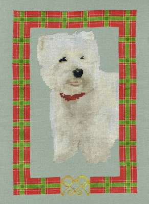 Click for more details of Westie (cross-stitch pattern) by Anne Peden