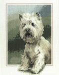 Click for more details of Westie (cross-stitch kit) by John Stubbs