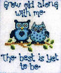 Click for more details of What a Hoot (cross-stitch pattern) by Sue Hillis Designs