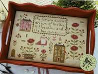 Click for more details of When Flowers Blossom (cross stitch) by With Thy Needle and Thread