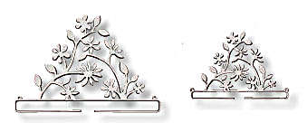 Click for more details of White Branch Deco Hanger (bell pulls) by Rico Design