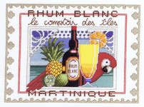Click for more details of White Rhum (cross-stitch kit) by Royal Paris