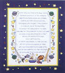Click for more details of Why God made little Boys and Girls (cross-stitch pattern) by Stoney Creek