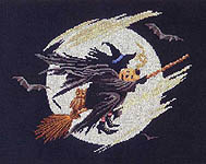 Click for more details of Wicked Witch (cross-stitch pattern) by Bobbie G. Designs