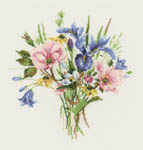 Click for more details of Wild Flower Posy (cross-stitch kit) by Valerie Pfeiffer