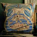 Click for more details of William de Morgan - Fish (tapestry) by Glorafilia