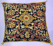 Click for more details of William Morris Cushion (tapestry kit) by Glorafilia