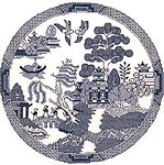 Click for more details of Willow Pattern (cross-stitch pattern) by Sue Ryder