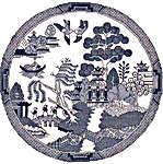 Click for more details of Willow Pattern (cross-stitch kit) by Sue Ryder
