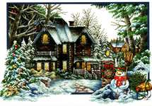 Click for more details of Winter Comes (no-count cross stitch) by Needleart World