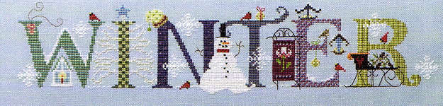 Click for more details of Winter (cross-stitch pattern) by The Cross-Eyed Cricket