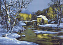 Click for more details of Winter Day  (cross-stitch kit) by Luca - S