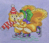 Click for more details of Winter Joy (cross-stitch) by Cross Stitching Art