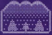 Click for more details of Winter Lace (cross stitch) by Alessandra Adelaide Needleworks