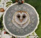 Click for more details of Winter Snow Owl (cross stitch) by Blackberry Lane Designs