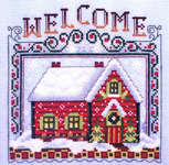Click for more details of Winter Welcome Home (cross stitch) by Stoney Creek