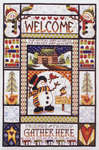 Click for more details of Winter Welcome Sampler (cross-stitch pattern) by Stoney Creek