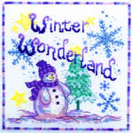 Click for more details of Winter Wonderland (cross-stitch pattern) by Cinnamon Cat