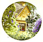 Click for more details of Wisteria Cottage (cross-stitch pattern) by John Clayton