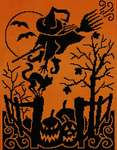 Click for more details of Witch's Night Out (cross stitch) by Stoney Creek