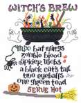 Click for more details of Witches Brew (cross-stitch pattern) by Imaginating